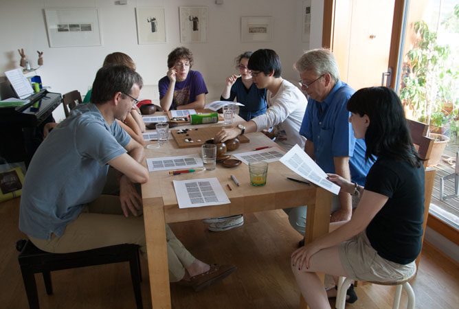 Workshop mit Hwang In-Seong