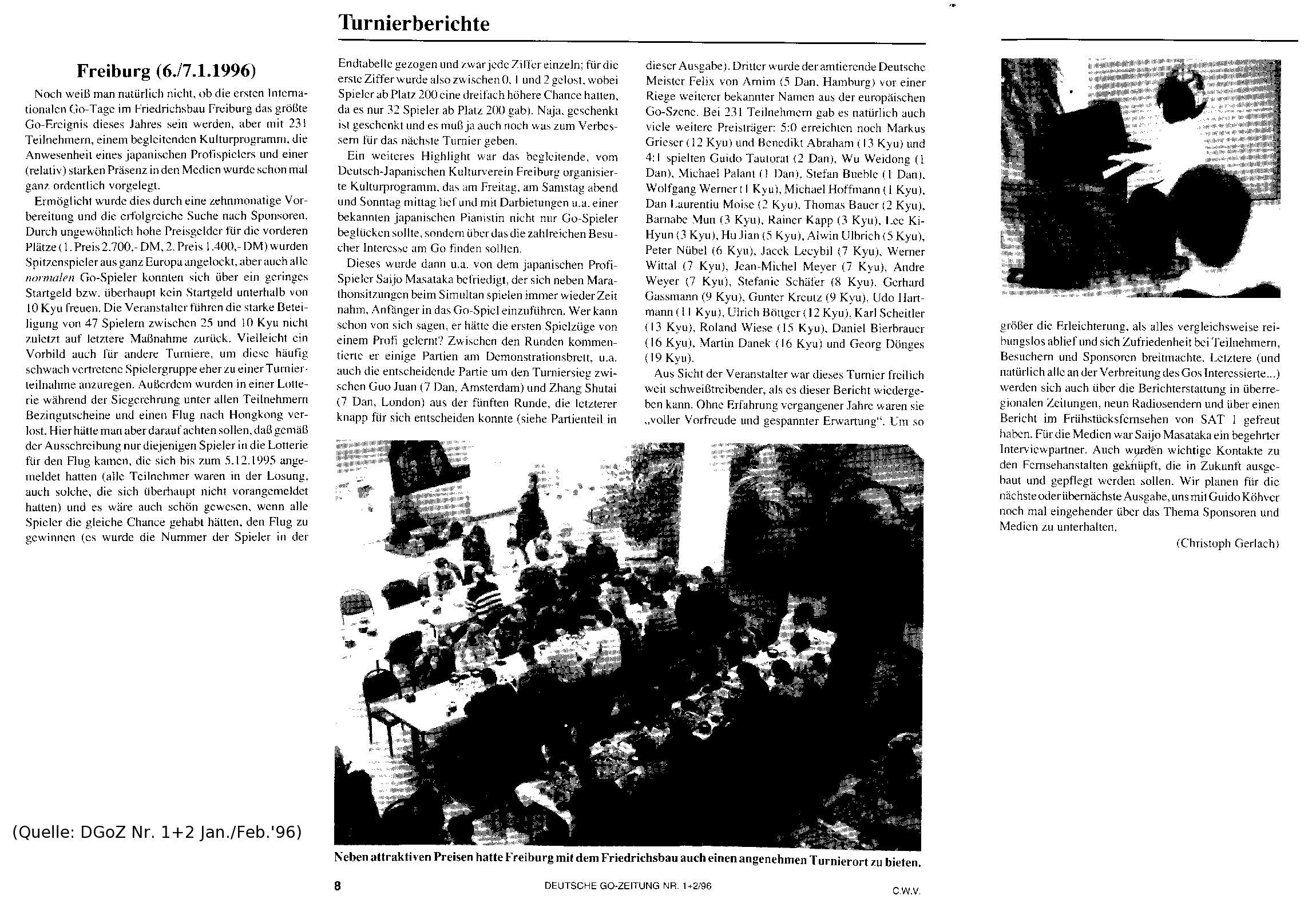 Bericht 1996
